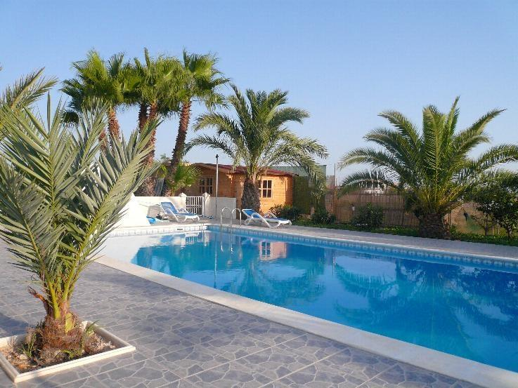 Our own swimming pools, 300 meters from the Villa