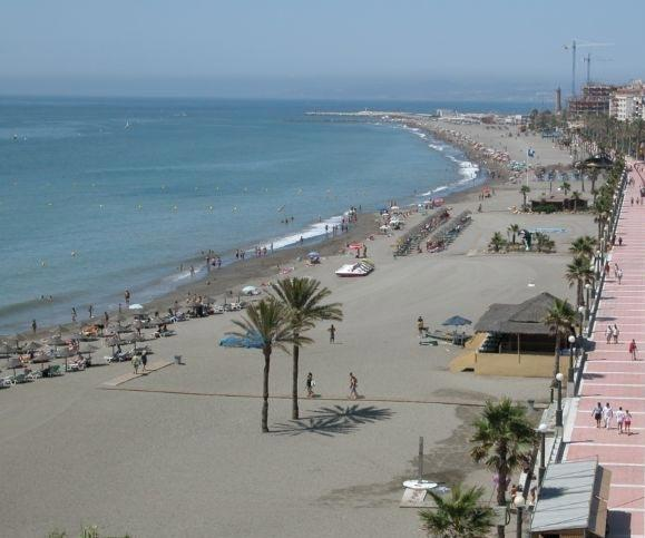 The wonderful beach at Estepona
