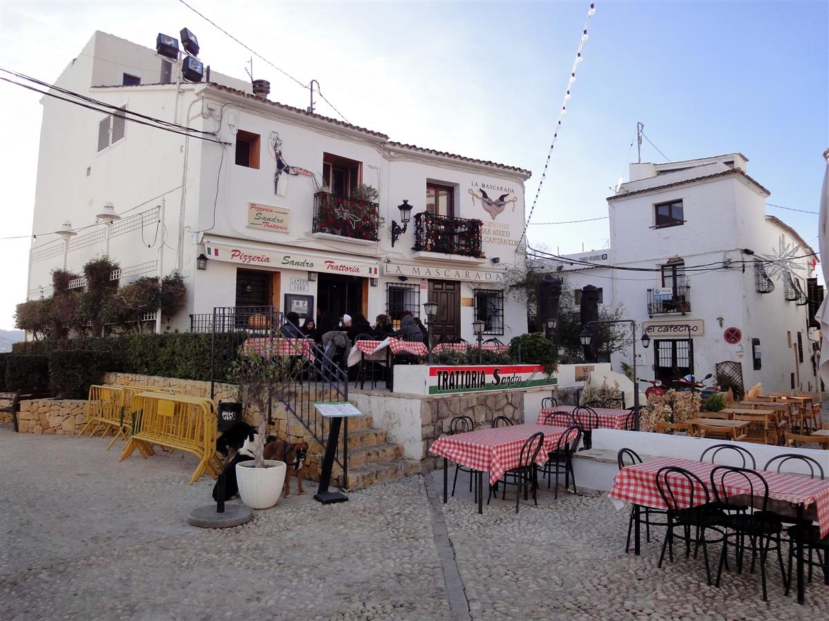 Old Town Square in Altea