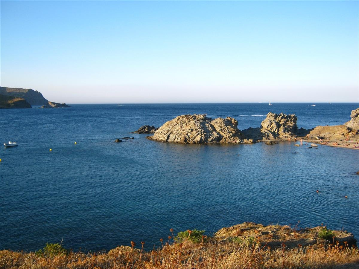 Cap Ras Bay,  typical coves and snorkelling beaches