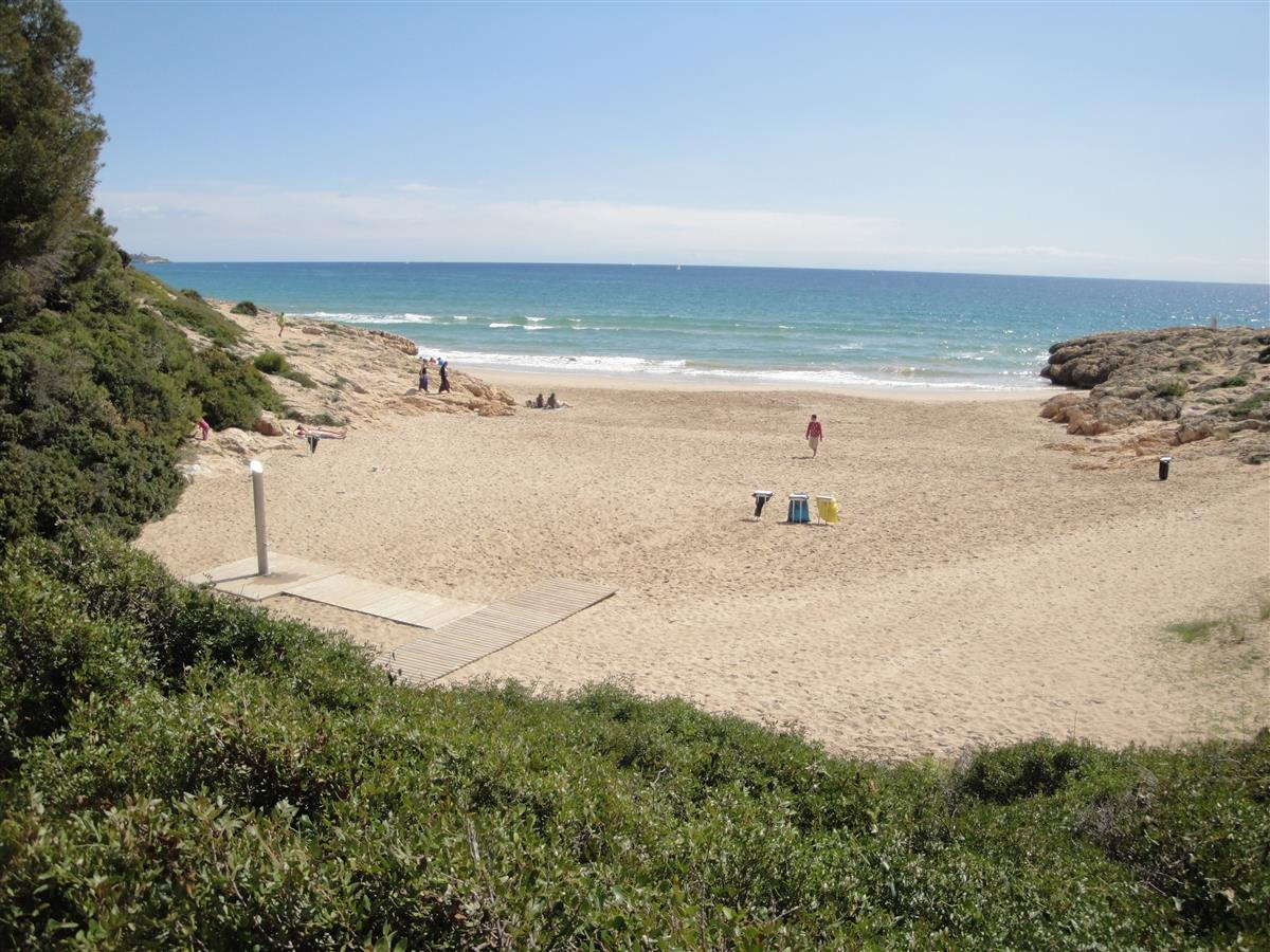 View of the Capellans beach