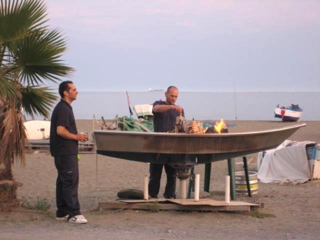 Typical Restaurante Beach Barbeque