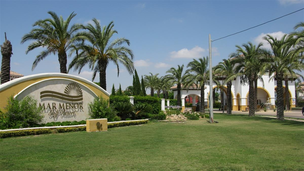 Gate to Mar Menor Golf Resort
