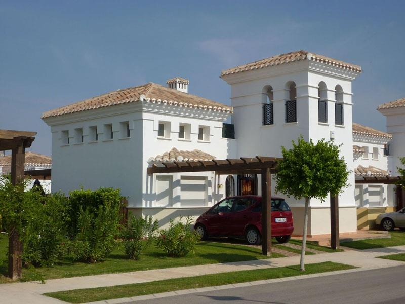 Villa from the street