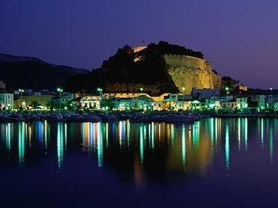 Denia at night