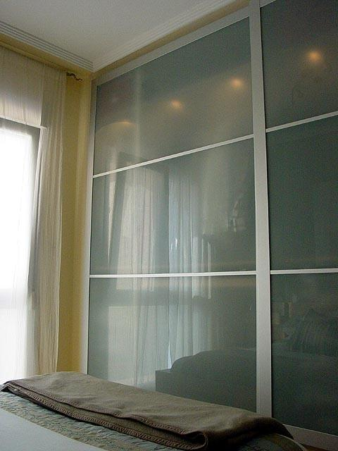 Wardrobes to master bedroom