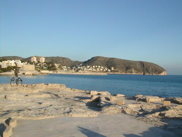 Javea coastline - 7 kms from villa. Great blue flag sandy beaches