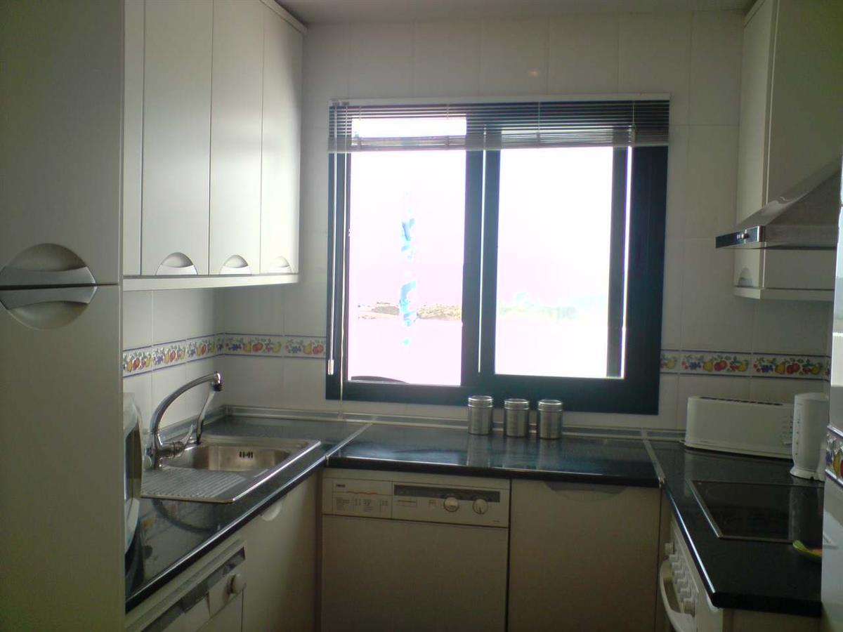 Second view of kitchen area