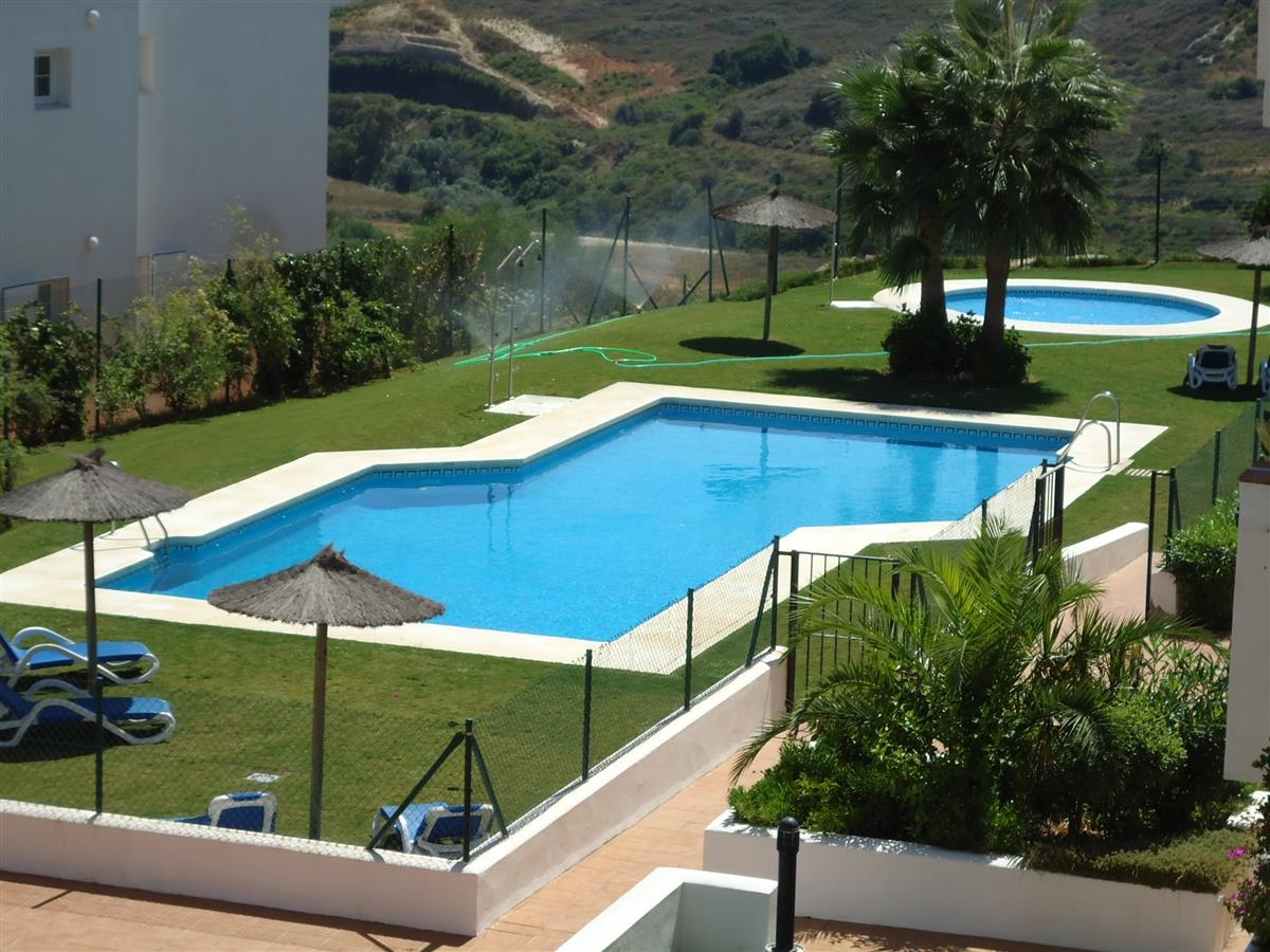 Terrace pool and garden wiev