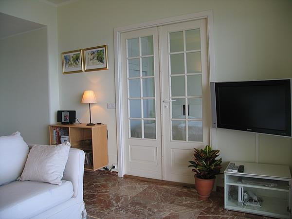 French doors to Master Bedroom