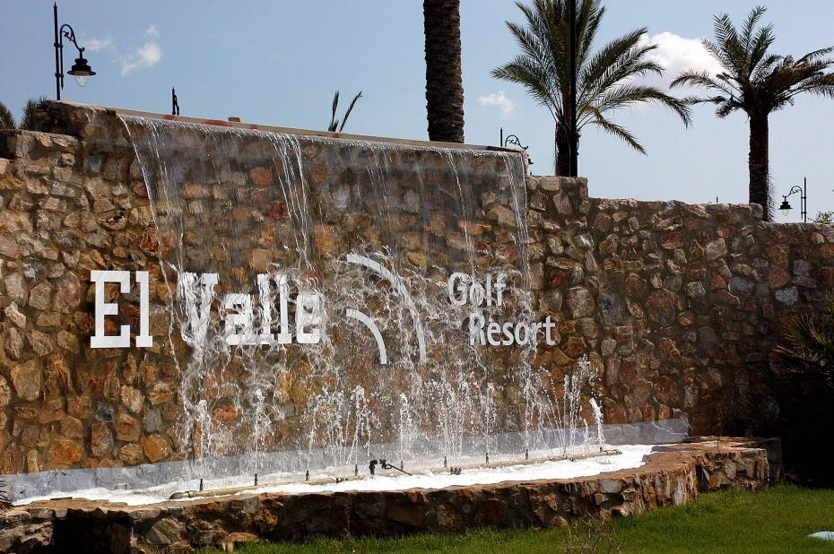El Valle Golf Resort Entrance