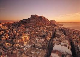 Alicante City at night!