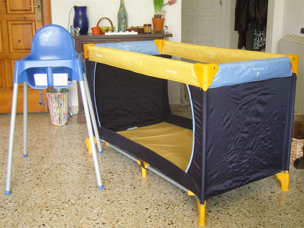 The babycot & toddler