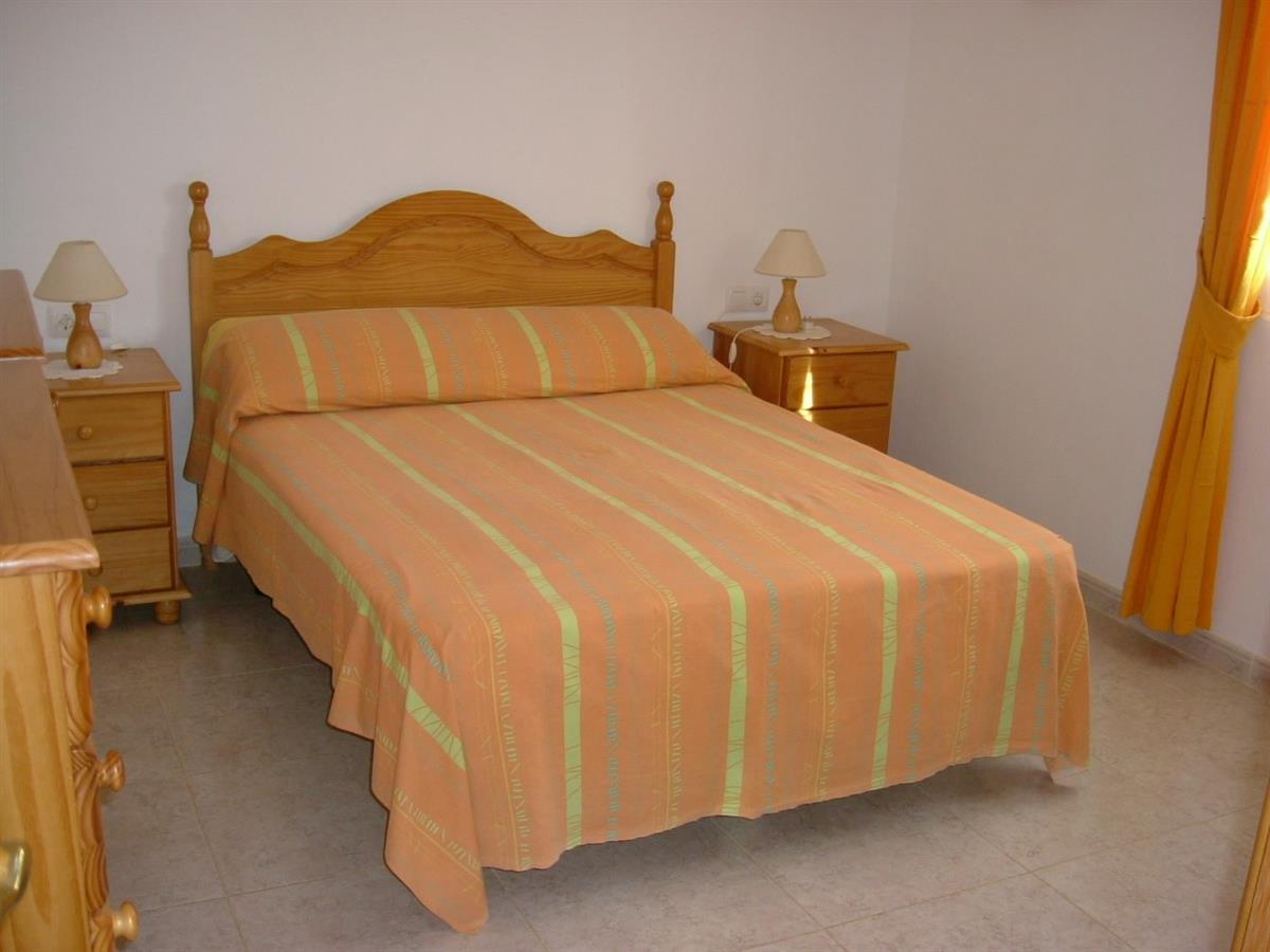double bedroom in large villa