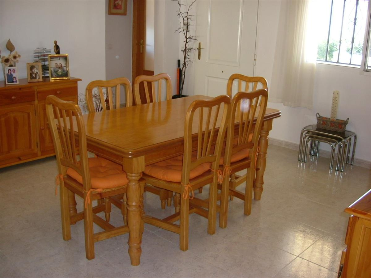 dining area in large villa