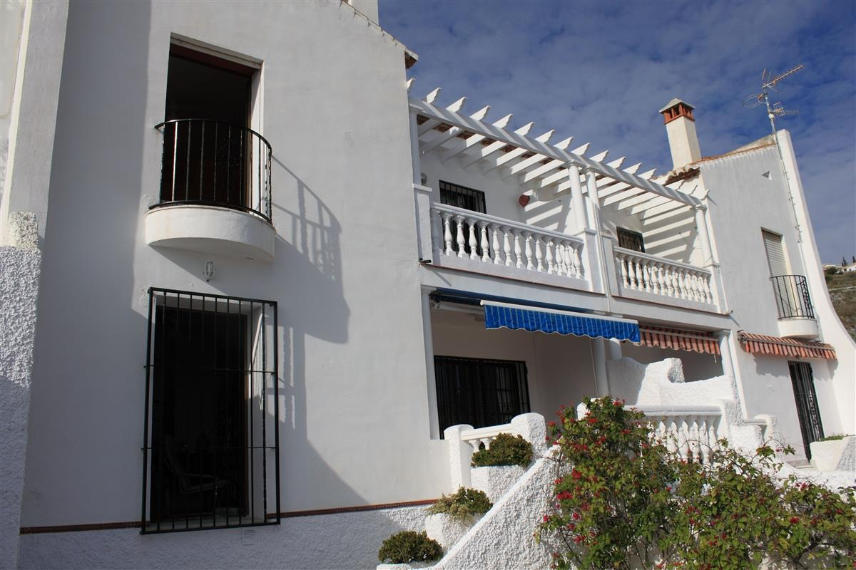 Front view of Casa Delfin