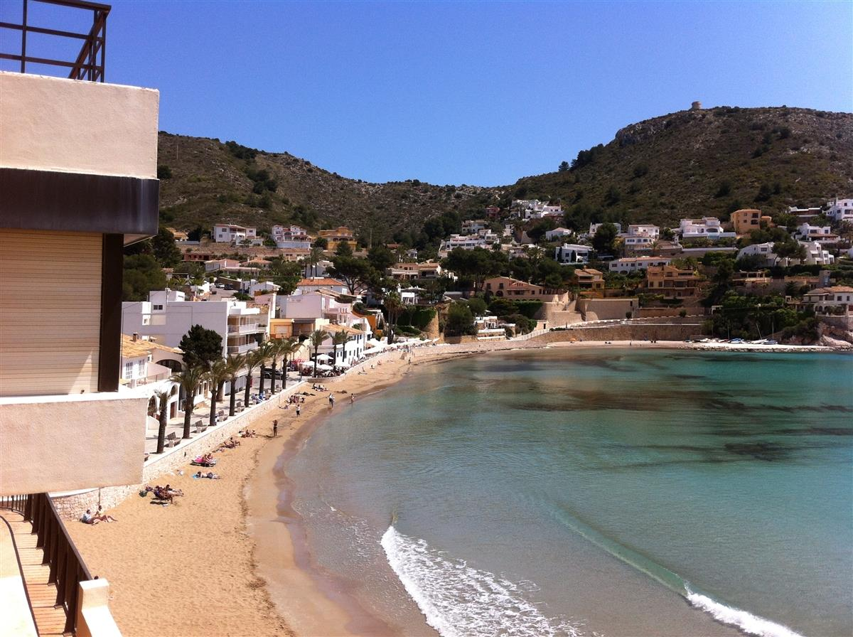 Local Beach El Portet April
