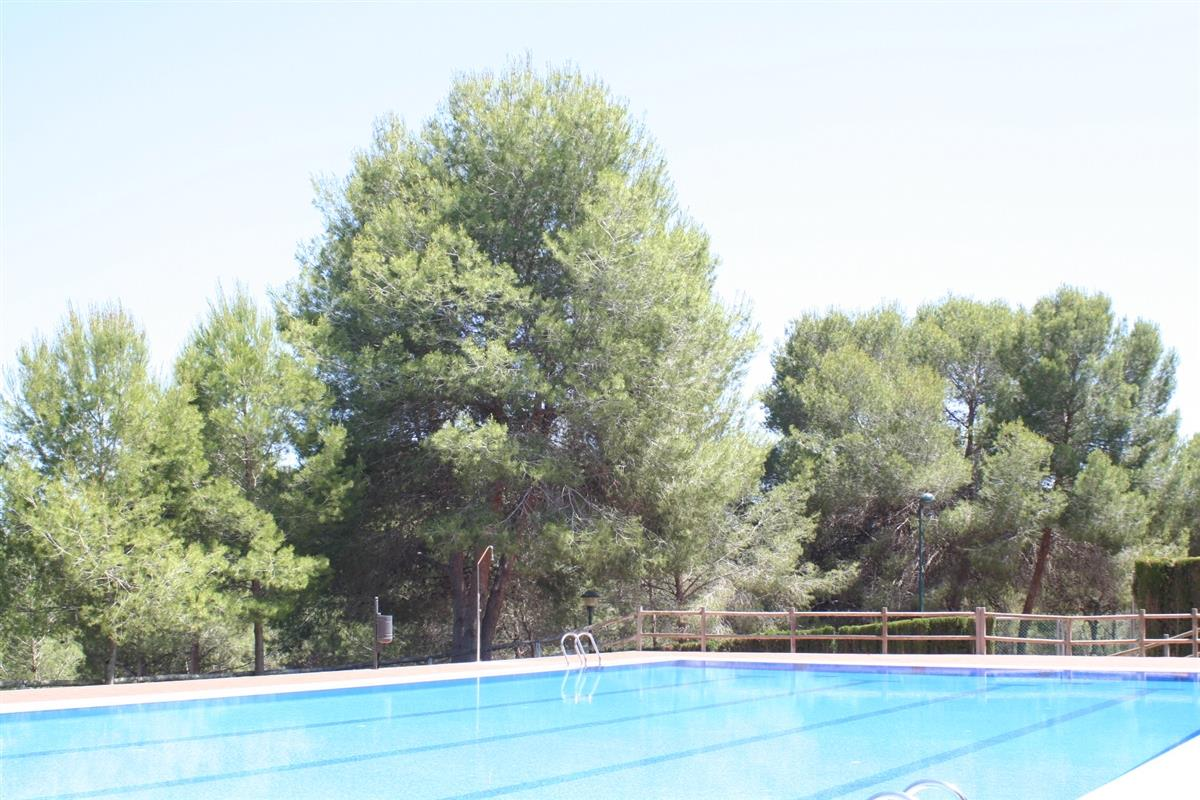 Rio Seco Pool set amongst the pines