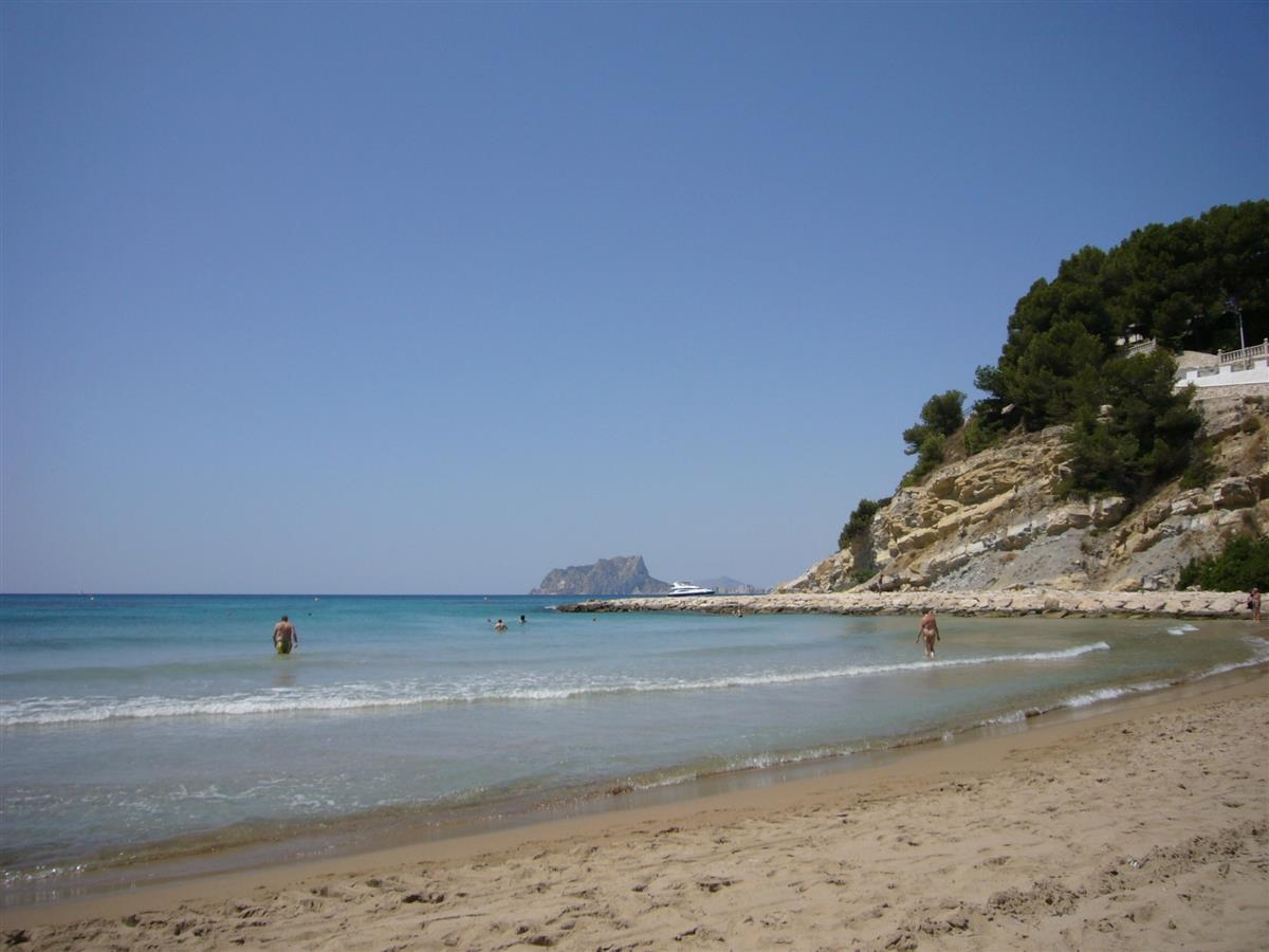 Moraira benefits from some of the best, sheltered beaches in Spain