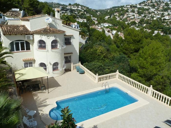 Vacation Villa in Moraira