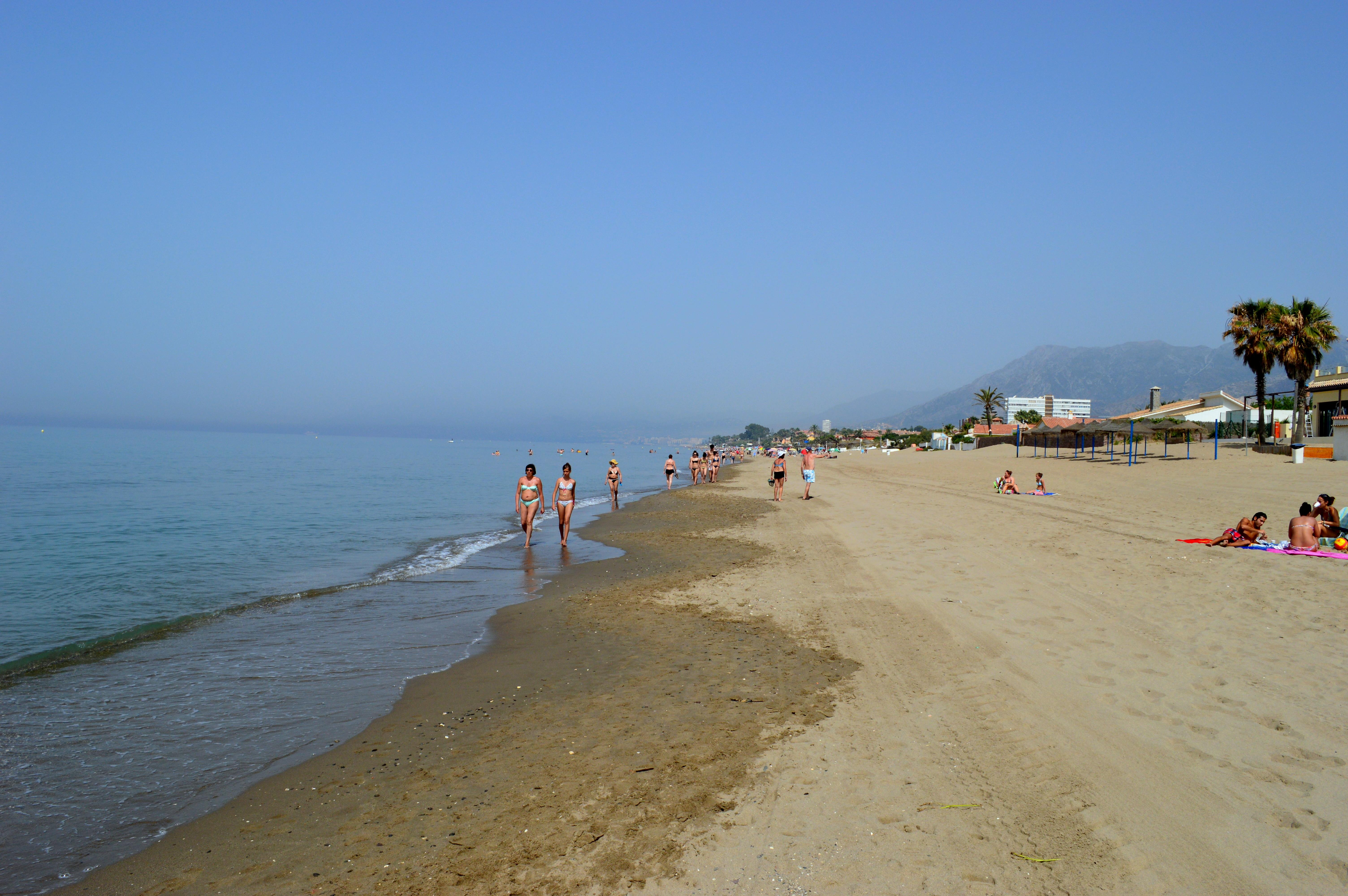 Top 10 beaches in Marbella