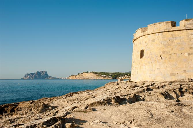 Moraira coastal watchtower