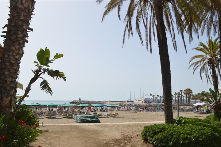 The beaches of Benalmadena - Playa Fuente de la Salud