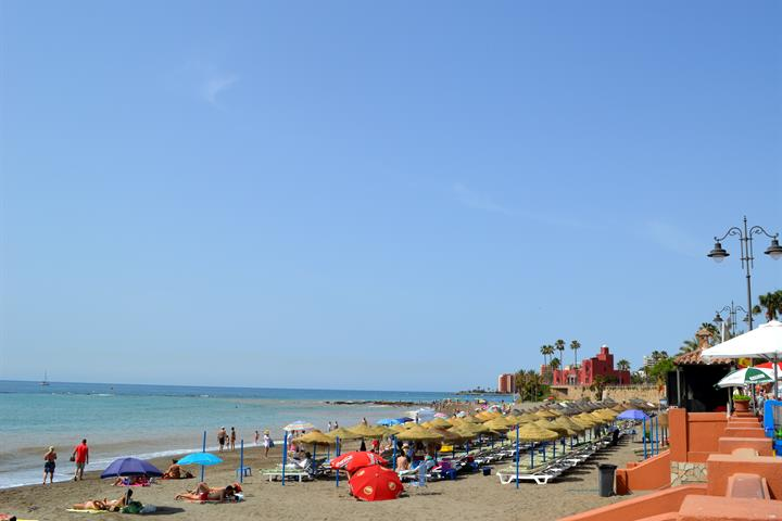 The beaches of Benalmadena - Playa Santa Ana