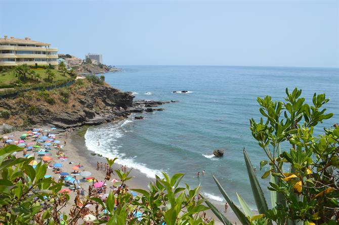 Benalnatura, Nudist beach in Benalmadena