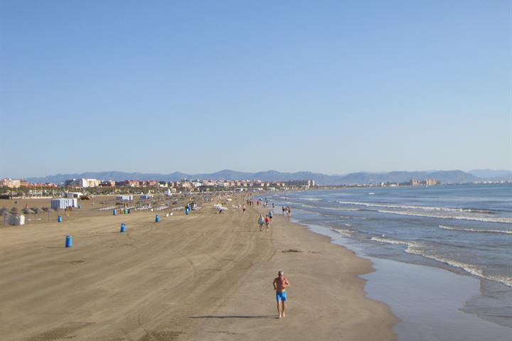 La Malvarrosa and Las Arenas, Valencia´s best beaches near the city