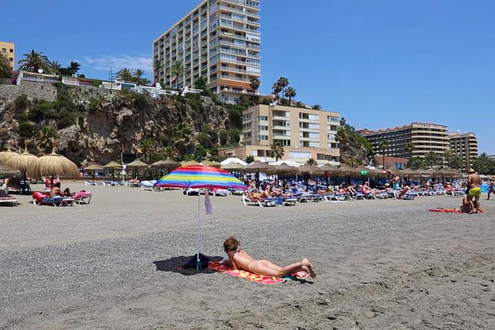 The Beaches of Torremolinos - Playa El Bajondillo