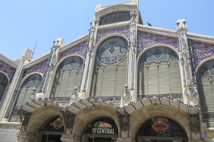 Mercado Central de Valencia, para comérselo.