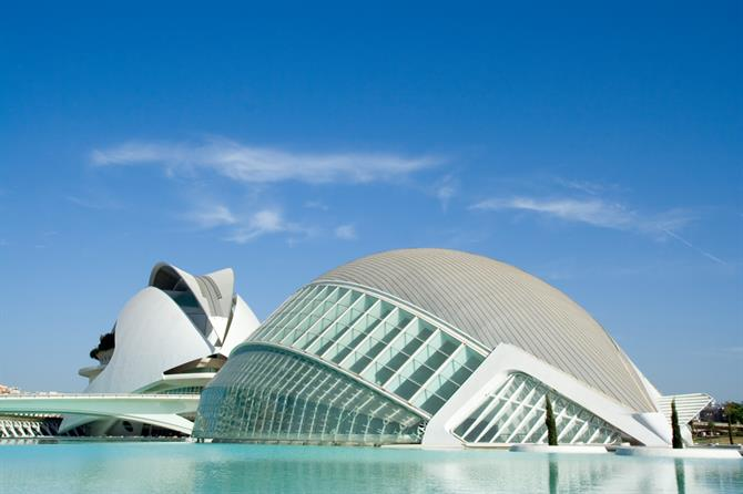 L'Hemisferic at the City of Arts and Science in Valencia