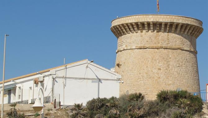 Illeta watchtower, El Campello, Alicante