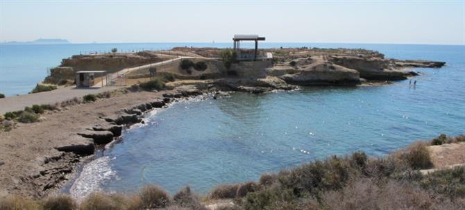 La Illeta Dels Banyets (the Queen's Bathing Pools) El Campello