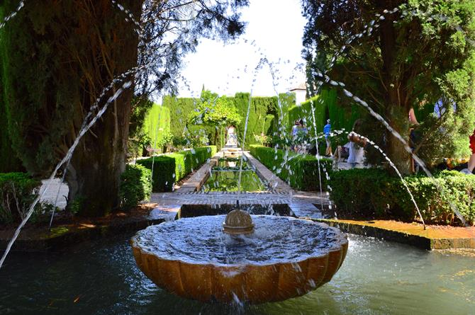 Fountain in Generalife
