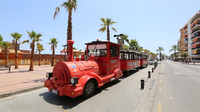 Mini Train City Tour à Fuengirola, Malaga - Costa del Sol (Espagne)