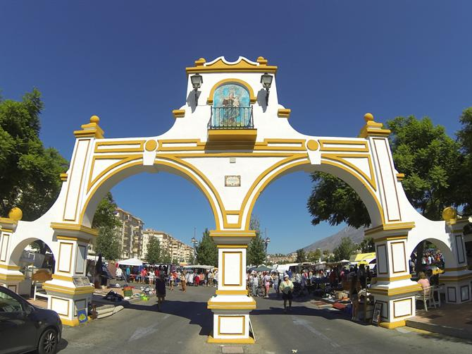 Fuengirola fair grounds entrance