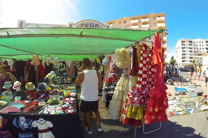 Fuengirola's Saturday flea market