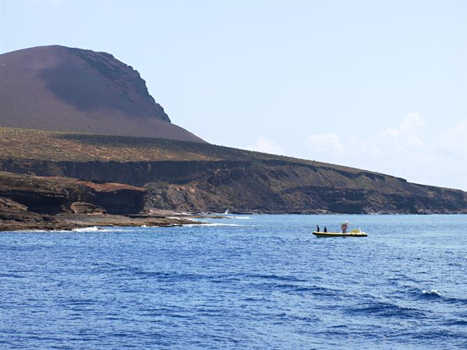 Alegranza island, Lanzarote, Canary Islands