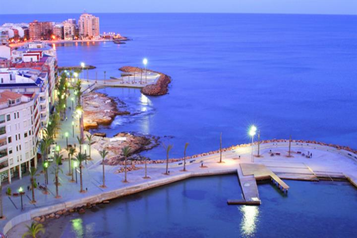 Stroll Along The Sights Of Torrevieja Seafront