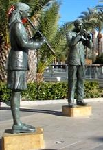 Torrevieja band sculpture