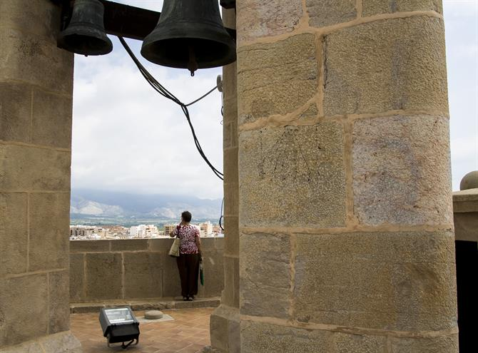 The view from El Fadrí belltower, Castellón