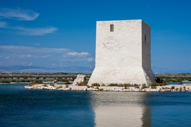 Tamarit Tower - Santa Pola marshes