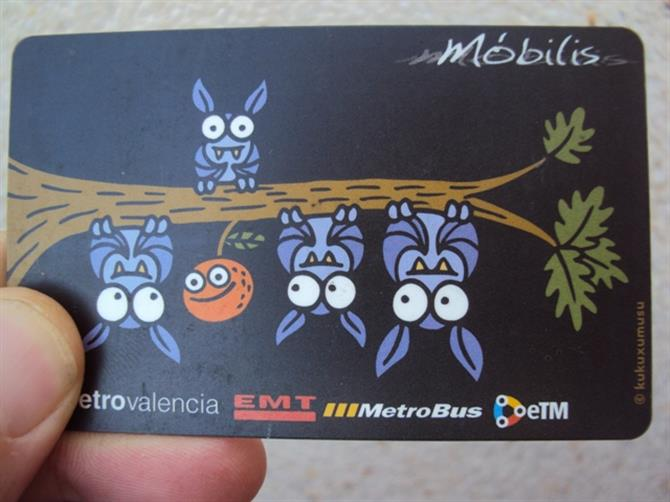 Valencia travel card