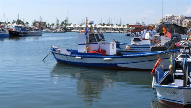Fishing boats at Santa Pola