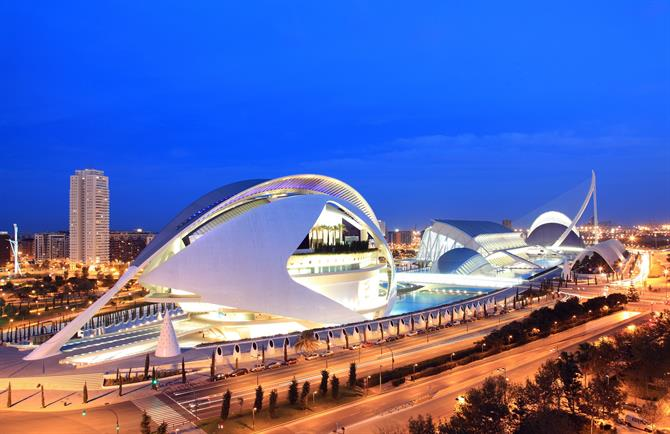 The city of Art, Valencia