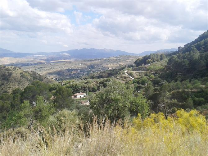 View of Casarabonela