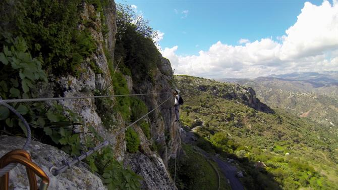 Via ferrata Comares