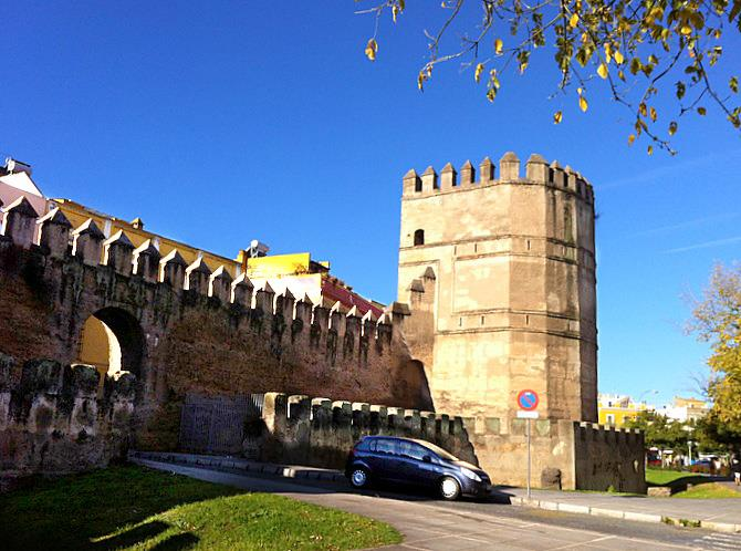 Old city wall, Seville
